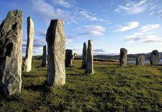 Menhires de Callanish. Isla de Lewis. Las Hébridas. Escocia.