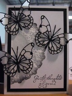 Sharing is caring!0010Two dies together with a doily for contrast I adore butterflies on cards, and I also love black and white for a super elegant colour combination. So this card just makes me say wow. Memory Box are known for their beautiful and intricate dies – and these butterfly dies are certainly a good …