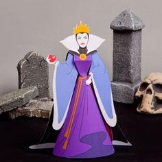 Snow White Theme: Evil Queen Papercraft