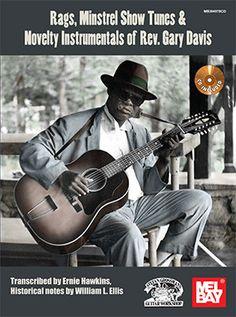 Rags, Minstrel Show Songs & Novelty Instrumentals of Rev. Gary Davis (Book/CD Set)