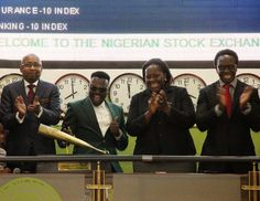 NIGERIAN TOP SECRET: See Photos: Dr Sid Rings Closing Bell for the Nige...