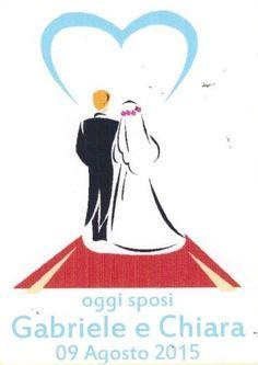 100 SIGILLI BOLLINI ETICHETTE PER MATRIMONIO PERSONALIZZATE 63X38-002