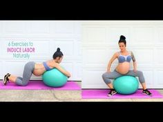 6 Exercises to Induce Labor Naturally - YouTube