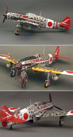 Hasegawa's 1/32 scale Kawasaki Ki-61-I Hien  by Bazyli Kot