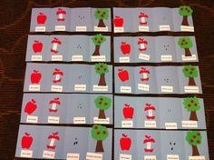 Apple Craft for Preschool / Kindergarten Please visit www.letsgetreadyforkindergarten.com for more ideas