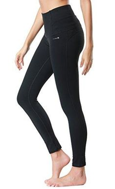176285ea9d066 Dragon Fit Compression Yoga Pants Power Stretch Workout Leggings with High  Waist Tummy Control (XX-Large