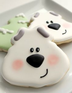 Easy Polar Bear Cookie 1a