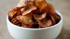 These snack chips are so utterly crunchy and satisfying, it's hard to believe they're made from radishes.