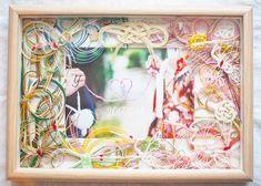 ご祝儀袋で作る水引ボードのリメイクデザインまとめ Wedding Welcome, Happy Marriage, Frame, Crafts, Decor, Weddings, Google, Instagram, Craft