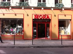 Mora--baking supply store (cake pans, silicone everything, chocolate molds galore, Madeleine pans, etc.) 3 rue Montmartre in the 1st
