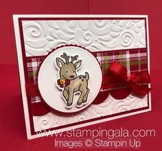 Under the Mistletoe Designer Series Paper - Stampin' Gala Christmas Cards 2018, Christmas Paper Crafts, Homemade Christmas Cards, Xmas Cards, Homemade Cards, Handmade Christmas, Holiday Cards, Christmas Projects, Candy Cards
