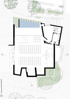 Pueblo Serena Church,Floor Plan