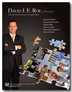 Illinois Insurance Lawyer: David Roe, Chicago attorney handling insurance coverage and business disputes #hartford #injury #lawyer http://ireland.nef2.com/illinois-insurance-lawyer-david-roe-chicago-attorney-handling-insurance-coverage-and-business-disputes-hartford-injury-lawyer/  Illinois Insurance Lawyer and Business Services Attorney Illinois Insurance Attorney Handling Insurance Coverage Disputes Litigation of insurance coverage disputes under commercial general liability policies…