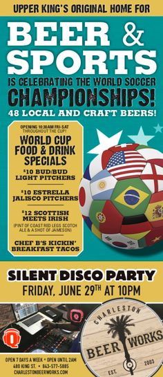 Sports Fanatics, Drink Specials, Craft Beer, World Cup, World Cup Fixtures, Home Brewing
