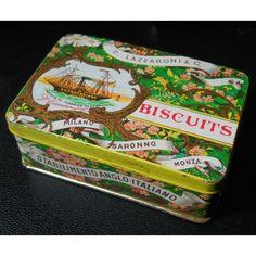 italian biscuits tin box