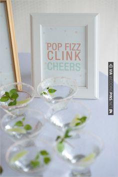 cute drink sign   VIA #WEDDINGPINS.NET