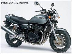 Suzuki GSX 750 Inazuma :: Katalog Motocyklů