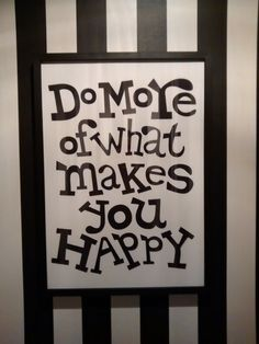 Happy Quotes : QUOTATION – Image : Quotes Of the day – Description . Sharing is Power – Don't forget to share this quote ! What Makes You Happy, Are You Happy, Art Quotes, Life Quotes, 2015 Quotes, Attitude Quotes, Project Life Cards, Perfection Quotes, Inspirational Wall Art