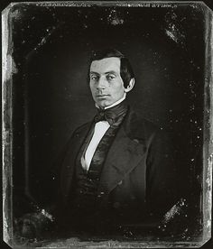 Daguerrotype of a young Abraham Lincoln looking most unlike the image of him I hold in my head.