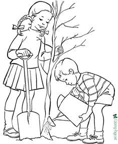 These free printable tree coloring pages are fun for kids! Tree leaf coloring book pages 001 Leaf Coloring Page, Horse Coloring Pages, Bible Coloring Pages, Coloring Pages To Print, Printable Coloring Pages, Adult Coloring Pages, Coloring Pages For Kids, Coloring Books, Kids Coloring