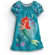 Size 4 Nightshirts & Princess PJs