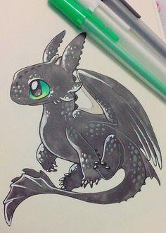 Inktover dragon