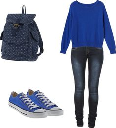 """Casual"" by valeriajhong on Polyvore"