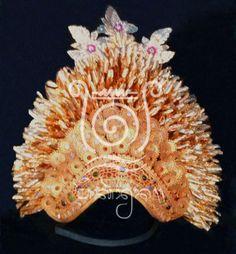 Balinese Oleg Tamulilingan (bumble bee dance) female headdress