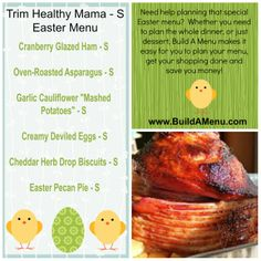 If you need help planning your Trim Healthy Mama Easter menu, then we can make it super easy for you. Be sure to check out our THM - S Easter menu available to our members.   #BuildAMenu #TrimHealthyMamaEasterRecipes #THMEaster