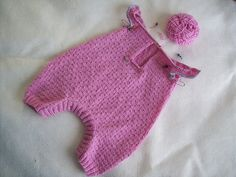 Ravelry: Project Gallery for #2 Combinaison pattern by Bouton d'Or