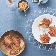 Yummmy recipe for sweet potato latkes