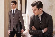 Corneliani Autumn/Winter 2015 Men's Lookbook | FashionBeans.com