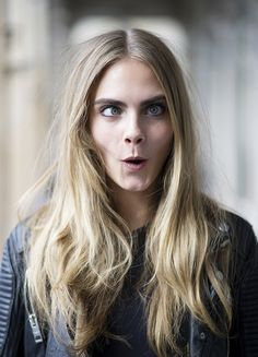 #cara delevingne for a model whos REAL