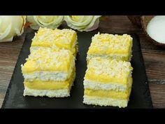 Prăjitură raffaello – un desert mai fin și delicat ca acesta nu există! Romanian Desserts, Chocolate Blanco, No Cook Desserts, Cornbread, Vanilla Cake, Sweet Treats, Cheesecake, Sweets, Cooking