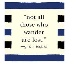 Mr. Tolkien said it!