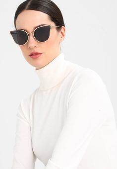 58121a856d6b ILDE III - Sunglasses - black/rosegold-coloured @ Zalando.co.uk 🛒. Rose  Gold ColorMax MaraCat Eye ...