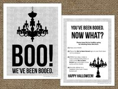 free printable BOO sign