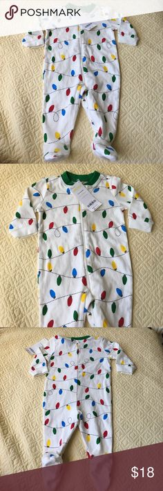 Gymboree, unisex, size 0-3 months New with tags Pajamas