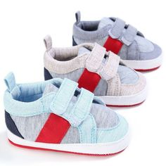 Tutoo Unisex Baby Infant Boy Girl Athletic Mesh Sneaker Cloth Prewalker Crib Crawling Shoes First Walkers Shoes PU Leather Soft Breathable