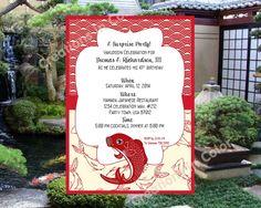 Yakudoshi Or Kanreki Invitation Printable Pdf File Kanreki