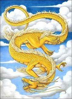 Dragons chinois sont des créatures légendaires dans la mythologie chinoise et le…