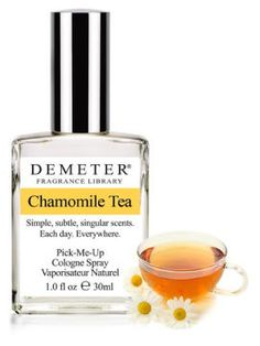 Chamomile Tea by Demeter Fragrance Library.