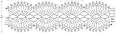 #ClippedOnIssuu de AO - Bag Arrange 100 Motifs Crochet Lace Collar, Crochet Mask, Thread Crochet, Crochet Stitches, Crochet Symbols, Crochet Doily Patterns, Crochet Doilies, Filet Crochet Charts, Crochet Diagram