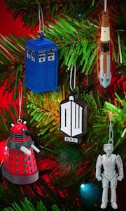 9797f569a4b Doctor Who 5 Piece Christmas Ornament Set Doctor Who Shop