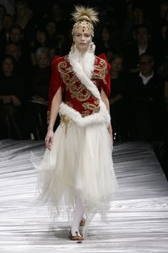 Alexander McQueen at Paris Fall 2008