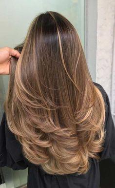 Light Blonde Balayage, Brown Hair Balayage, Brown Blonde Hair, Hair Color Balayage, Natural Brown Hair, Ombre On Brown Hair, Pretty Brown Hair, Beautiful Brown Hair, Caramel Blonde Hair