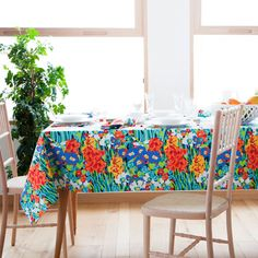 WATERCOLOUR PRINT TABLECLOTH AND NAPKIN - Tablecloths & Napkins - Tableware | Zara Home United Kingdom