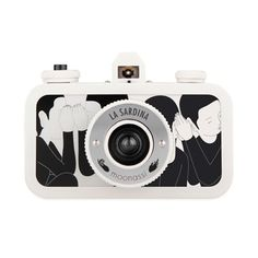 The La Sardina Whisper is a wide-angle camera adorned with monochromatic illustrations by Korea-based graphic artist Moonassi. Whisper Love, Gadgets, Art Society, Gifts For Photographers, Instant Camera, Gadget Gifts, My Favorite Part, Buy Shoes, Fujifilm Instax Mini