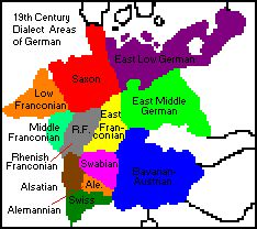 More having to do with language, this website is quite informative, regarding the history of Germany, England, Scandinavia, and other nearby areas.