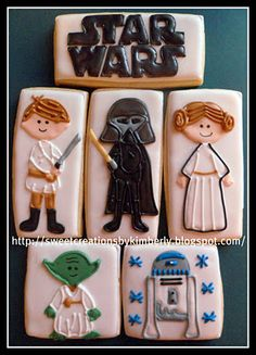 Star Wars Cookies - These are the cookies you are looking for